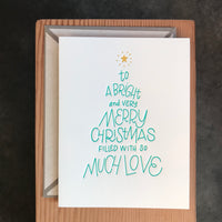 Christmas - Tree Lettering
