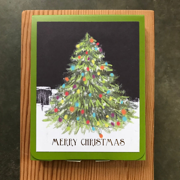 Tree Lighting Boxed Cards