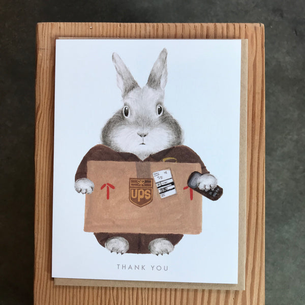 Thank You - UPS Bunny