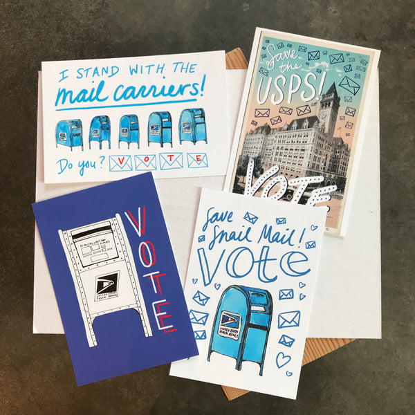 USPS Vote Postcard Set