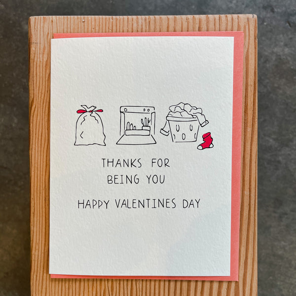 Valentine - Thanks for being you
