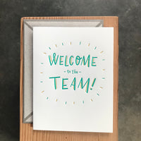 Work - Welcome to the team