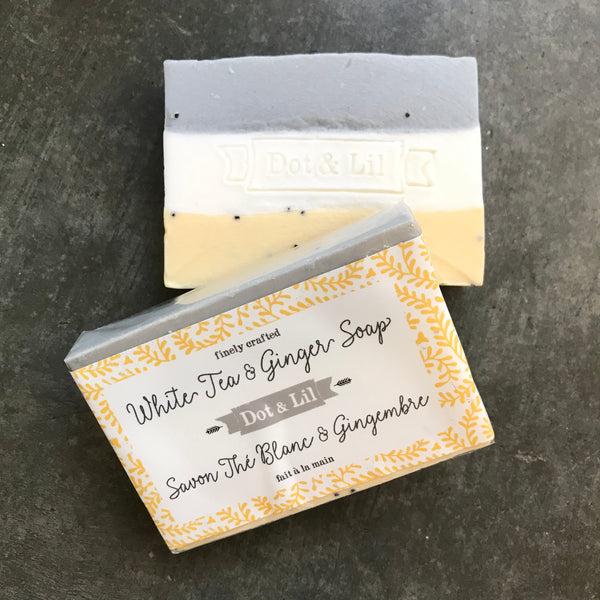 White Tea + Ginger Soap