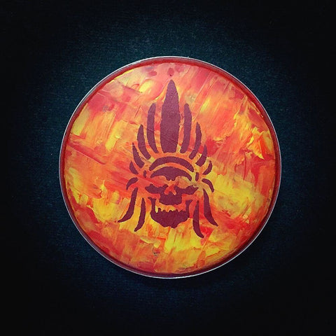 Hand Painted Drum Head 017