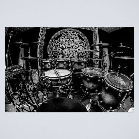 Poster Timeless Timber Drum Set