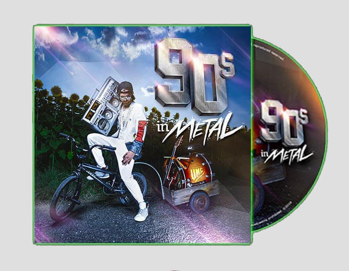 UMC - 90s in Metal DIGIPACK