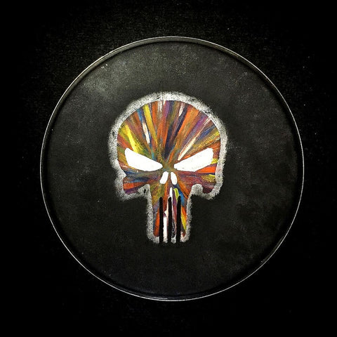 Hand Painted Drum Head 006