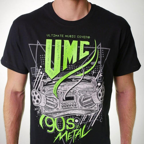 90s in Metal Shirt