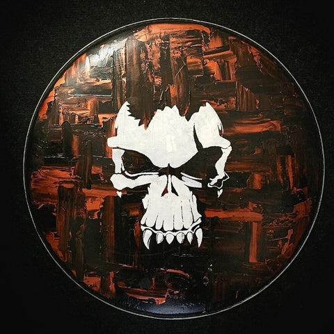 Hand Painted Drum Head 016