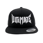 ULTIMATE LOGO SNAPBACK BLACK