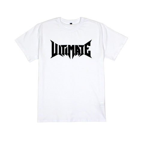 ULTIMATE LOGO TEE WHITE
