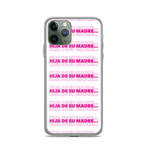 Hija De Su Madre iPhone Case