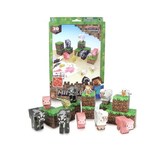 Minecraft Papercraft 30pc Sets - ToyToyjac - 2