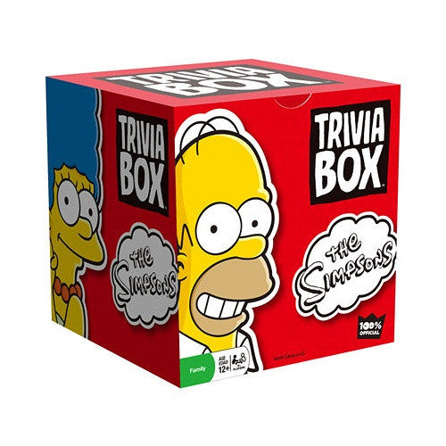 The Simpsons Trivia Box - ToyToyjac