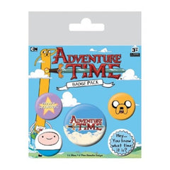 Adventure Time Badges - ToyToyjac