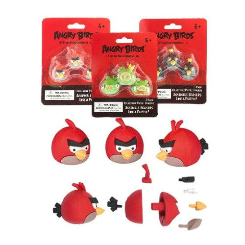 Angry Birds Puzzle Erasers