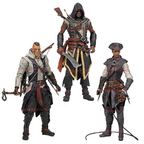 Assassin's Creed 'Series 2' Action Figures