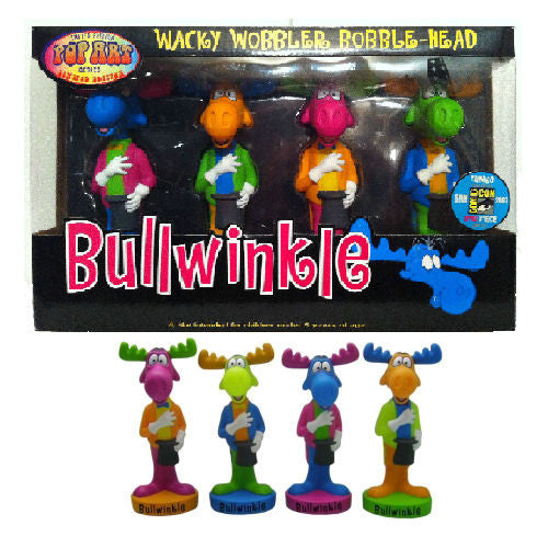 Bobble Head - Bullwinkle Ltd Edition 'Pop Art' Set