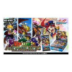 Buddyfight - Booster - 'Drum's Adventure' - ToyToyjac