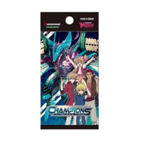 Cardfight!! Vanguard V - Booster - 'Champions Of The Asia Circuit'