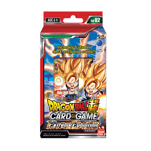 Dragonball Super - Extreme Evolution Deck