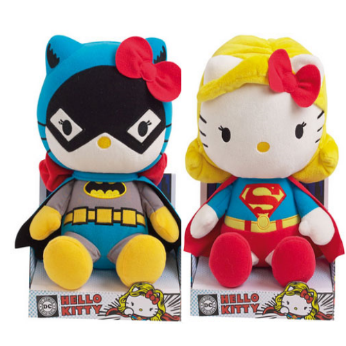 Hello Kitty DC Comics Plush Heroes 27cm - ToyToyjac - 1