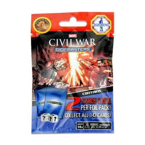 Dice Masters - 'Civil War' Booster - ToyToyjac