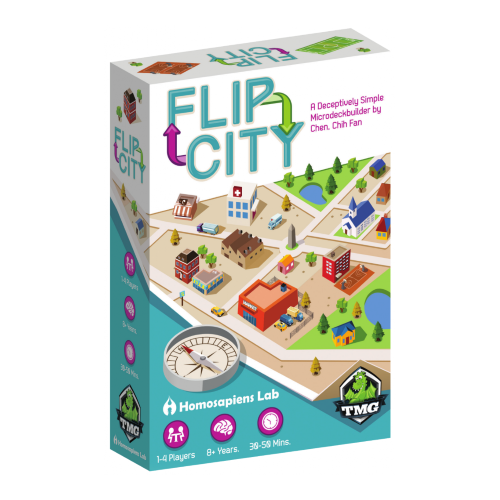 Flip City - Card Game - ToyToyjac