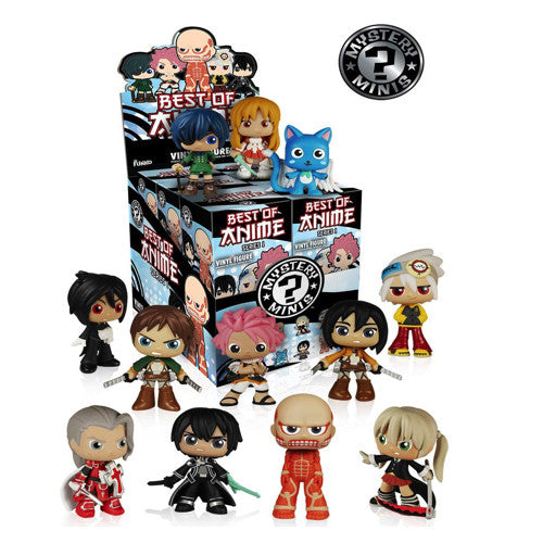 Funko Mystery Mini - 'Best Of Anime - Series 1'