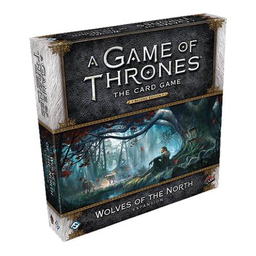 Game Of Thrones LCG 2nd Edition - Wolves Of North Expansion - ToyToyjac