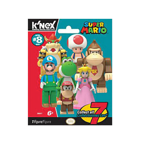 K'nex Super Mario 'Wave 8' Figure Pack