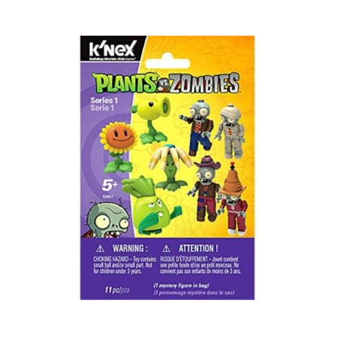 K'nex Plants Vs. Zombies 'Series 1' Figure Pack