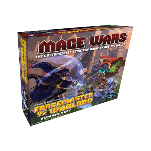 Mage Wars - Forcemaster Vs Warlord Expansion - ToyToyjac