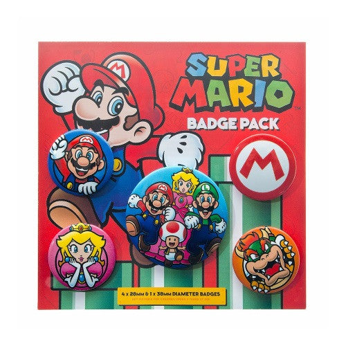 Mario Badge Pack