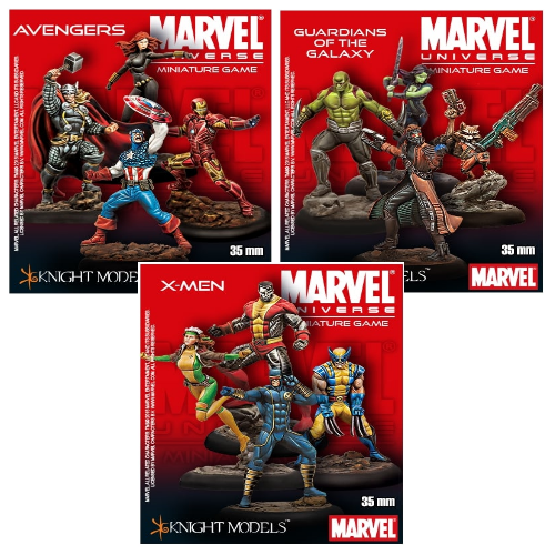 Marvel Miniatures - Starter Set - ToyToyjac