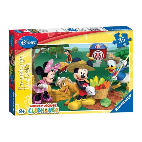 Mickey Mouse 35 Piece Jigsaw - ToyToyjac