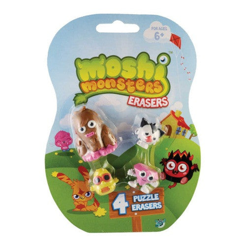 Moshi Monsters - Puzzle Erasers