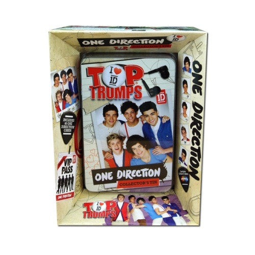 Top Trumps - One Direction Collectors Tin - ToyToyjac