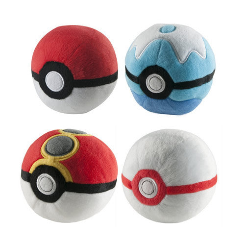 Plush Poke Ball