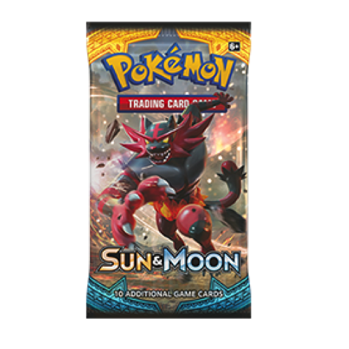 Pokemon TCG Booster - Sun & Moon