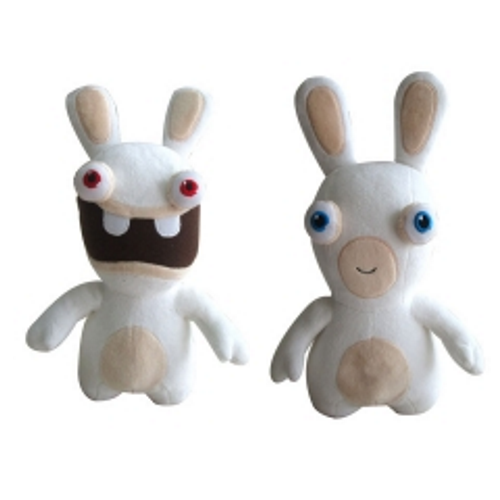 Raving Rabbid Plush - ToyToyjac