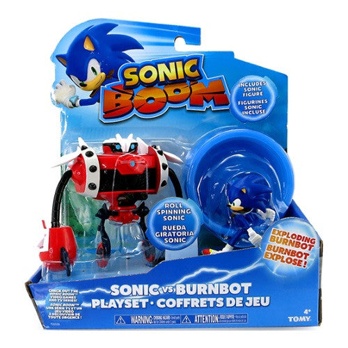 Sonic Vs Burnbot Playset - ToyToyjac