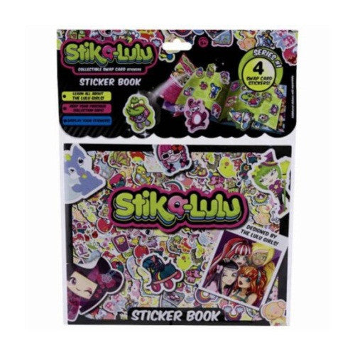 Stika-Lulu Sticker Book - ToyToyjac