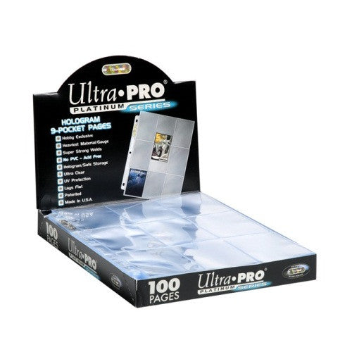 Ultra Pro 5 x Platinum 9-Pocket Pages
