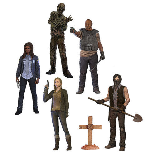 Walking Dead 'Series 9 ' Action Figures - ToyToyjac