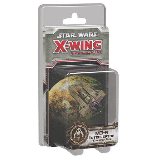 X-Wing Miniatures M3-A Interceptor - ToyToyjac