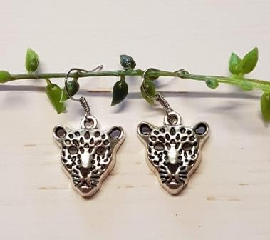Leopard Face Charms