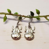 Cow Face Charms