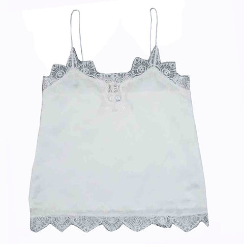 Free Ostrich 2019 Lace V-neck Summer Women Tank Top Sleeveless Shirt Bustier Vest Bralette Blouse Cami C2035