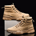 HAROGATE Men Ankle Boots For Men Indestructible Martin Boots Desert Men Sneakers Trend Army Shoes Homme Outdoor Footwear 2020